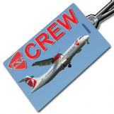 CSA CZECH AIRLINES ATR72 Crew Tag